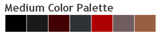 Medium Color Palette per CSS-Drive.