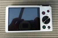Casio Exilim EX-ZR200 - Rückseite