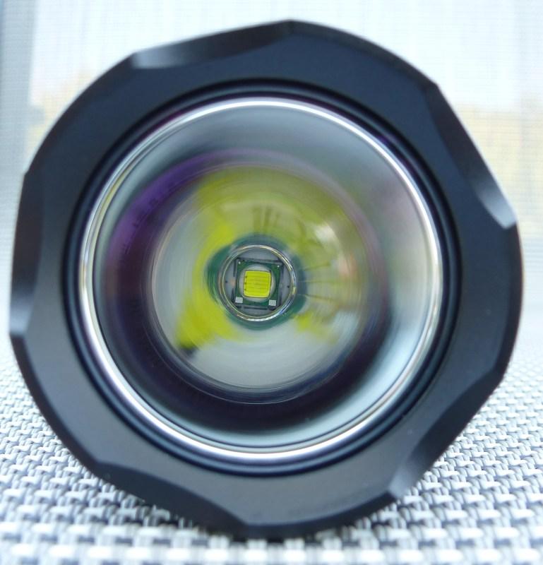 Fenix LD41 - Reflektor und LED-Chip