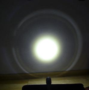LED Lenser M7RX - fokussiert Power Modus (100%)