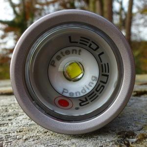 LED Lenser M7RX - Linse defokussiert