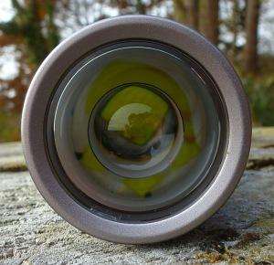 LED Lenser M7RX - Linse fokussiert