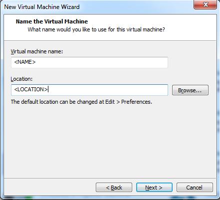 Abbildung 6: VM-Name