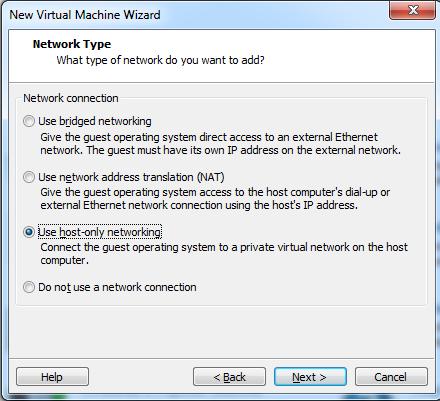 Abbildung 9: Netzwerkkonfiguration