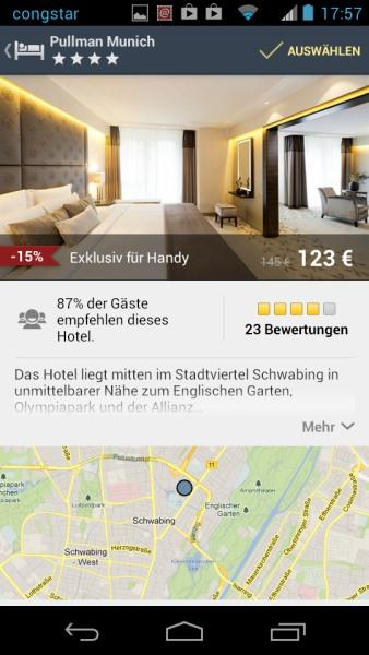 Expedia-App Hotel