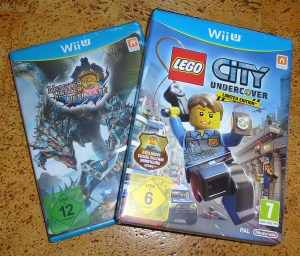 Wii U Spiele - Monster Hunter 3 Ultimate & Lego City Undercover - Limited Edition