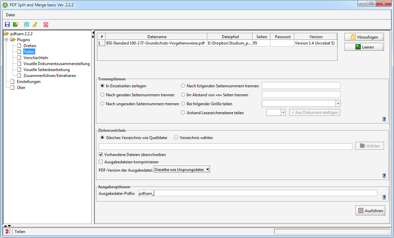 split and merge pdf linux
