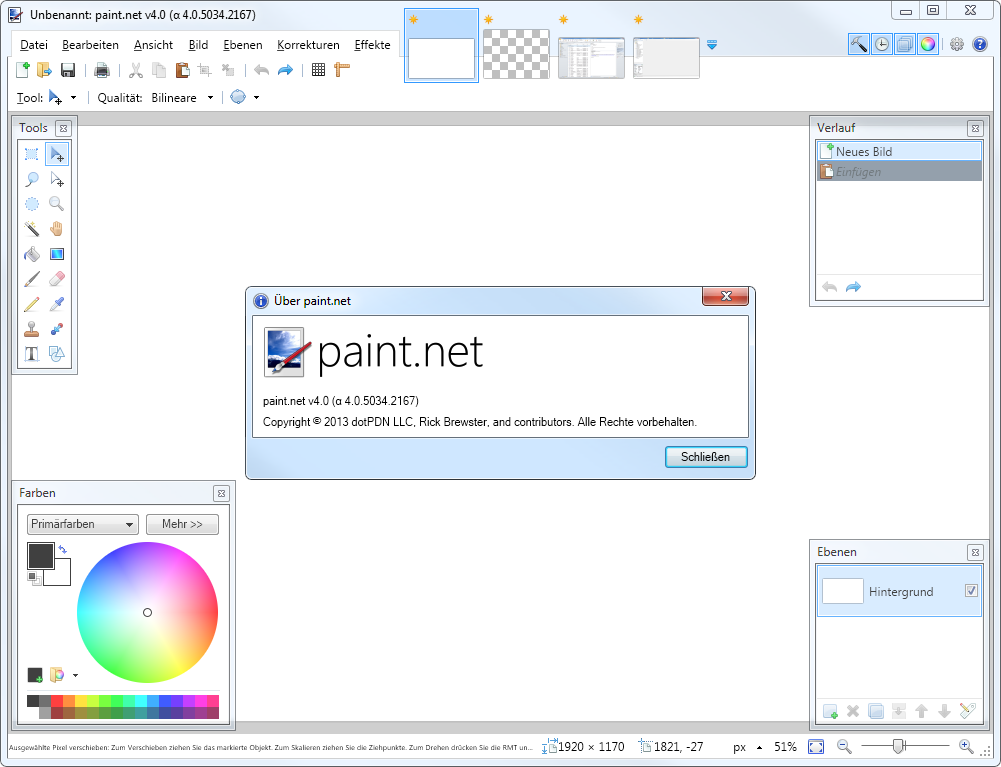 Paint Net Is An Image And Photo Manipulation Application