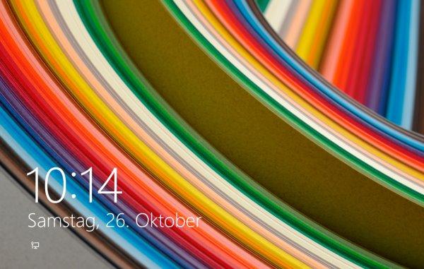 Windows 8.1 Lockscreen