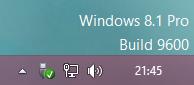 Windows 8.1 Wasserzeichen
