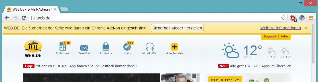 Web.de_Hinweis