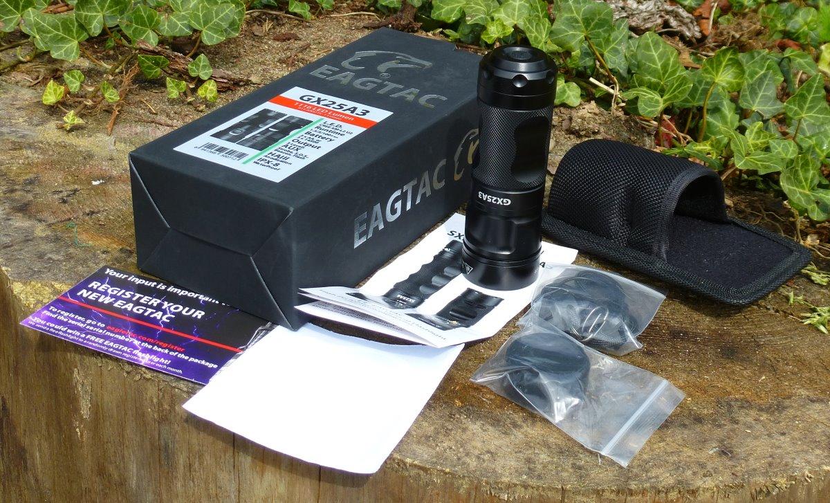 EagleTac GX25A3 - Lieferumfang
