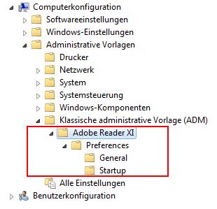 Adobe GPOs