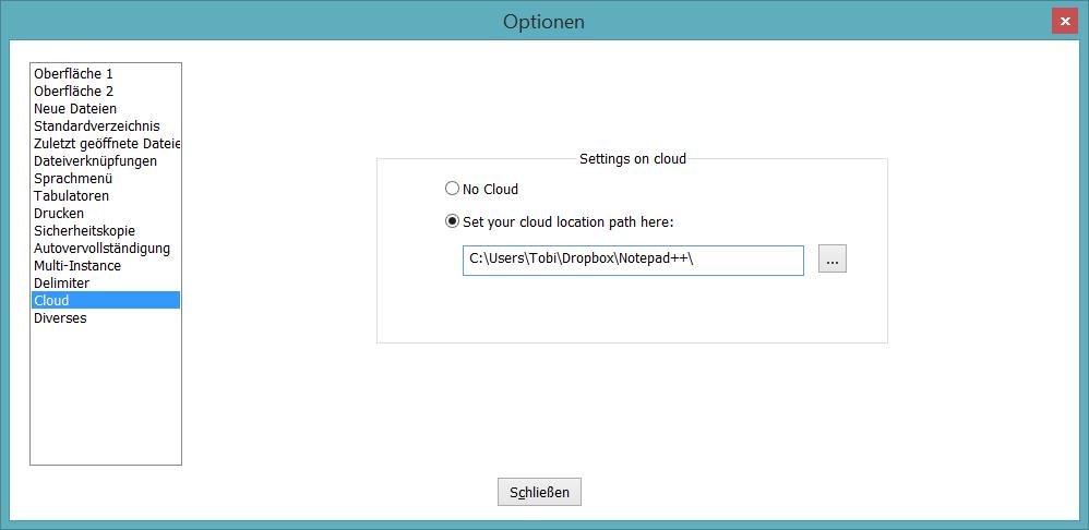 Notepad++ Sync