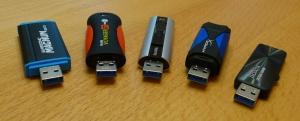 USB-3.0-Sticks mit 128 GByte