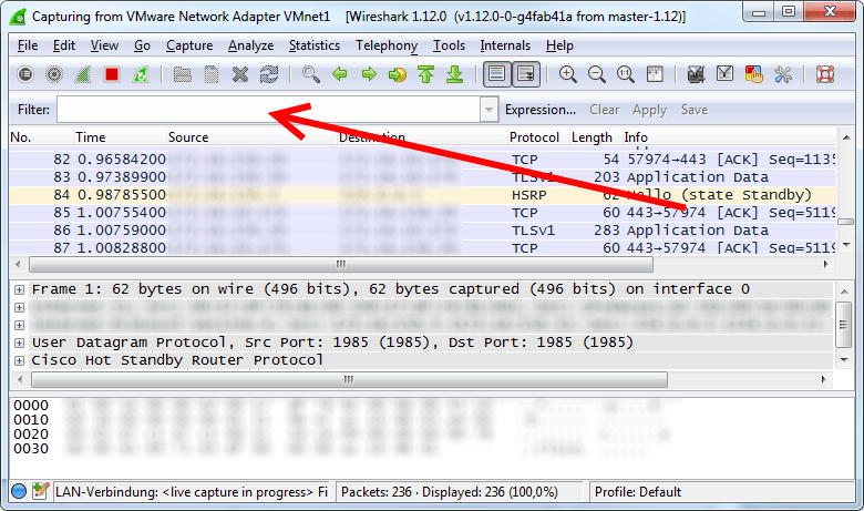 Wireshark Display Filter