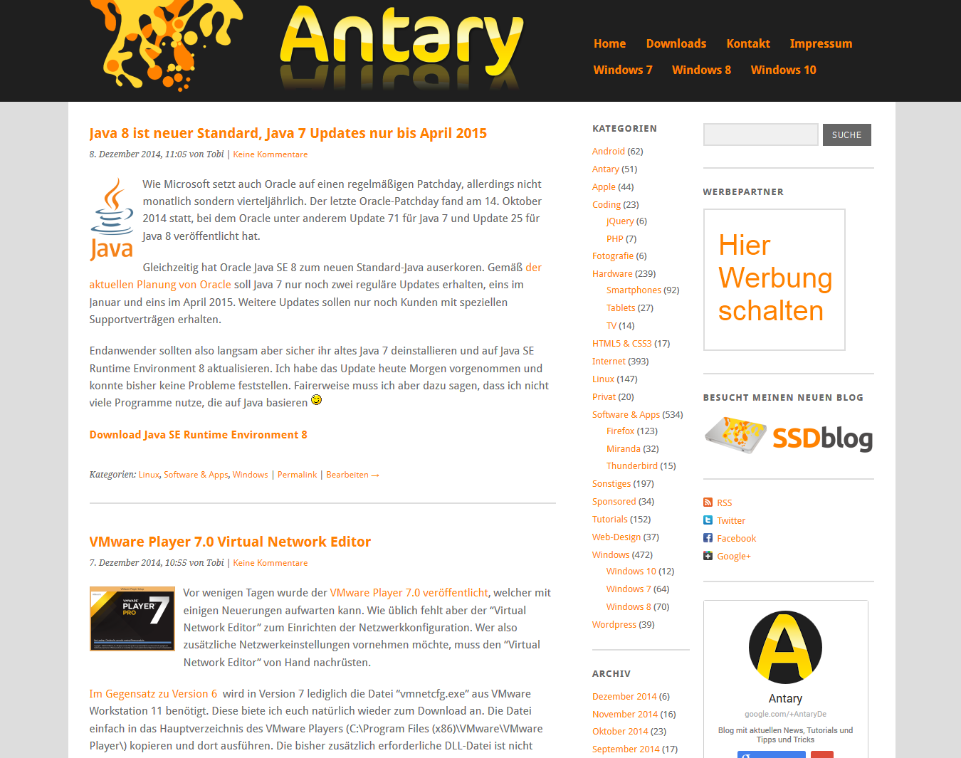 Altes Antary Design auf Yoko-Basis
