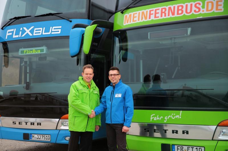 MeinFernbus und Flixbus
