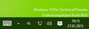 Windows 10 Wasserzeichen