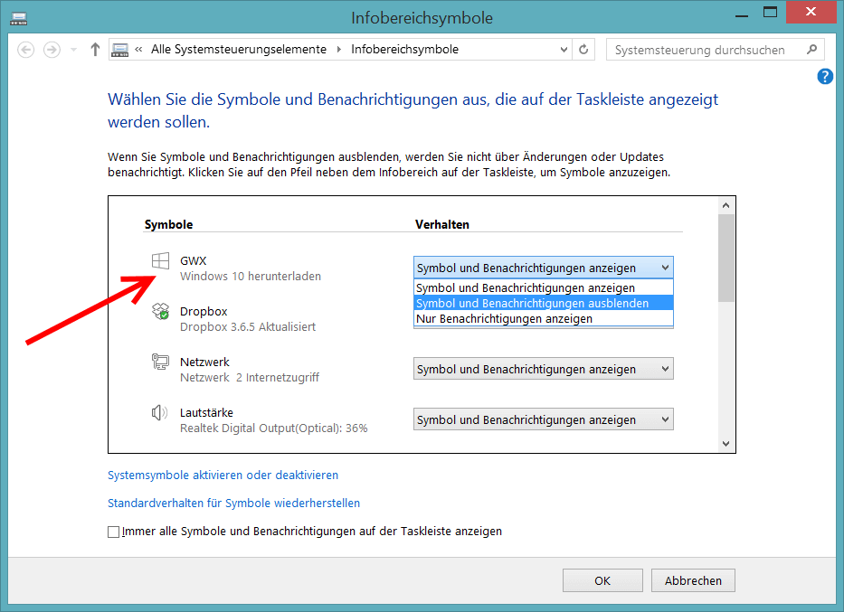 Windows 10 Upgrade ausblenden