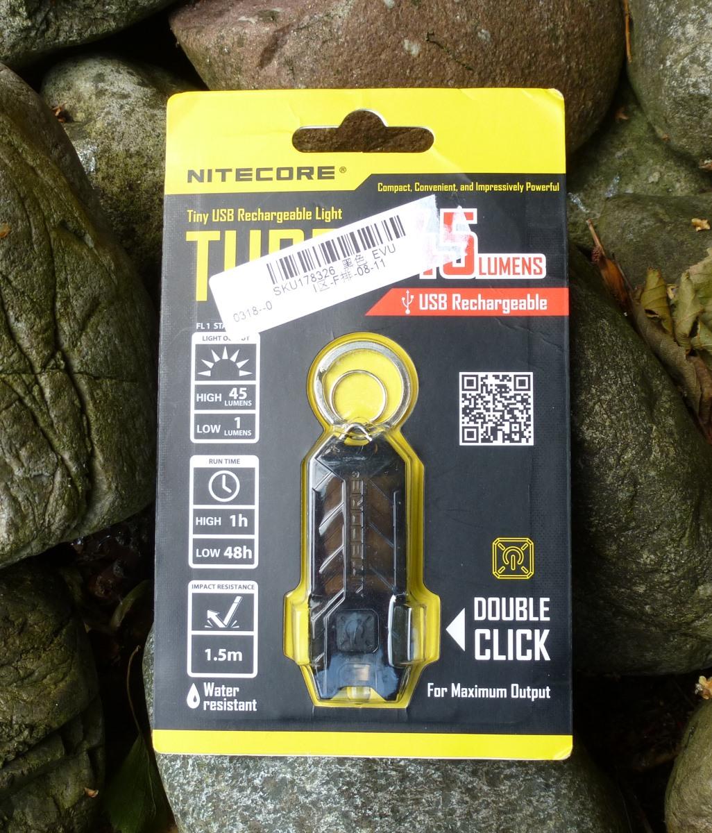 Nitecore Tube Verpackung