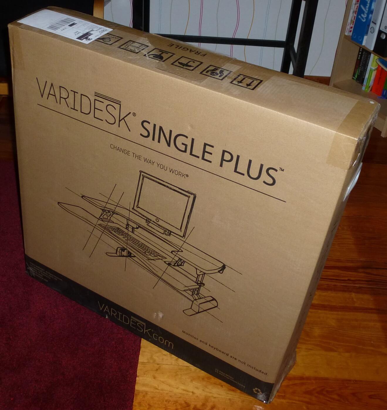 VariDesk - Verpackung