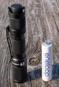 Lumintop Tool AAA LED und Sanyo eneloop
