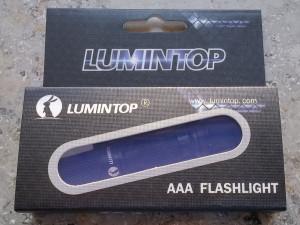 Lumintop Tool AAA Verpackung