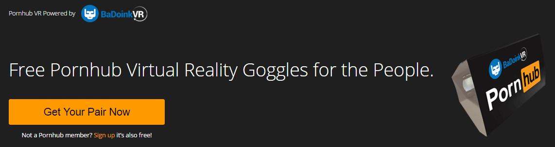 Pornhub VR-Brille