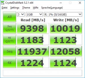 CrystalDiskMark RAM-Disk