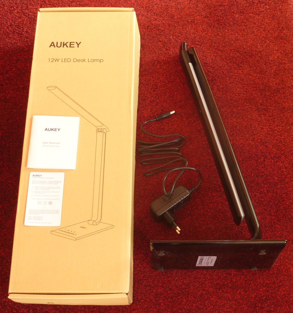 Aukey Schreibtischlampe - Lieferumfang
