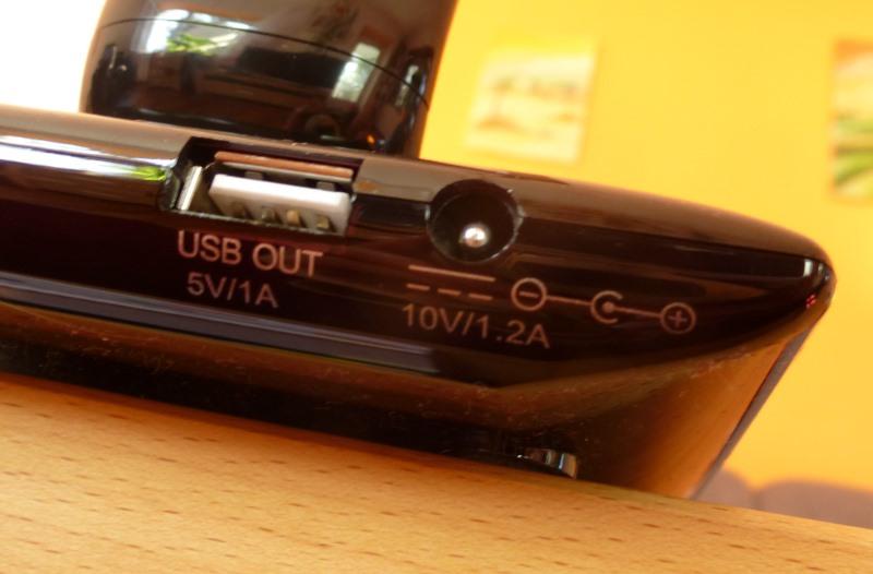 Aukey Schreibtischlampe - Anschlüsse