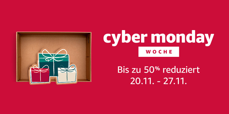 Cyber Monday 2017 (Bild: Amazon)