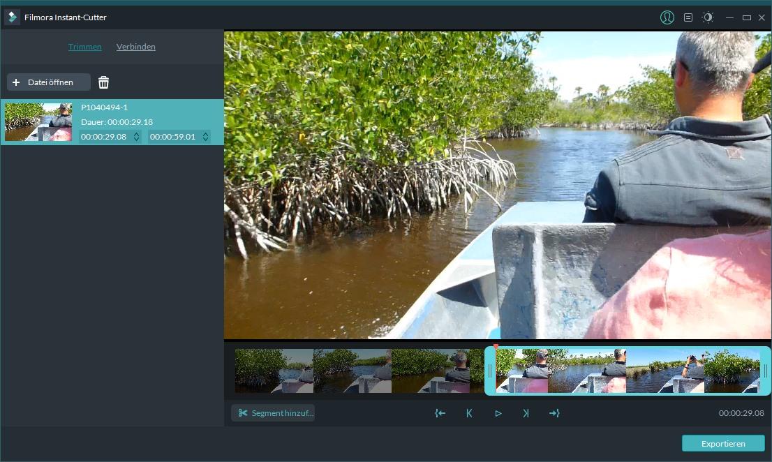 Filmora Video Editor Instant-Cutter