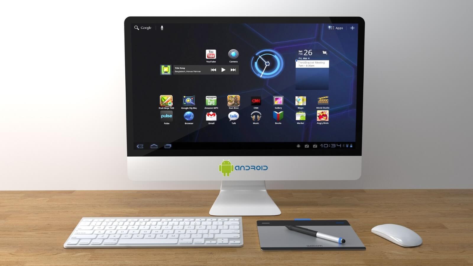 Per Genymotion Emulator finden wir die Android-Oberfläche auf dem PC wieder. - Quelle: Pixabay