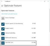 Windows 10 OpenSSH-Client