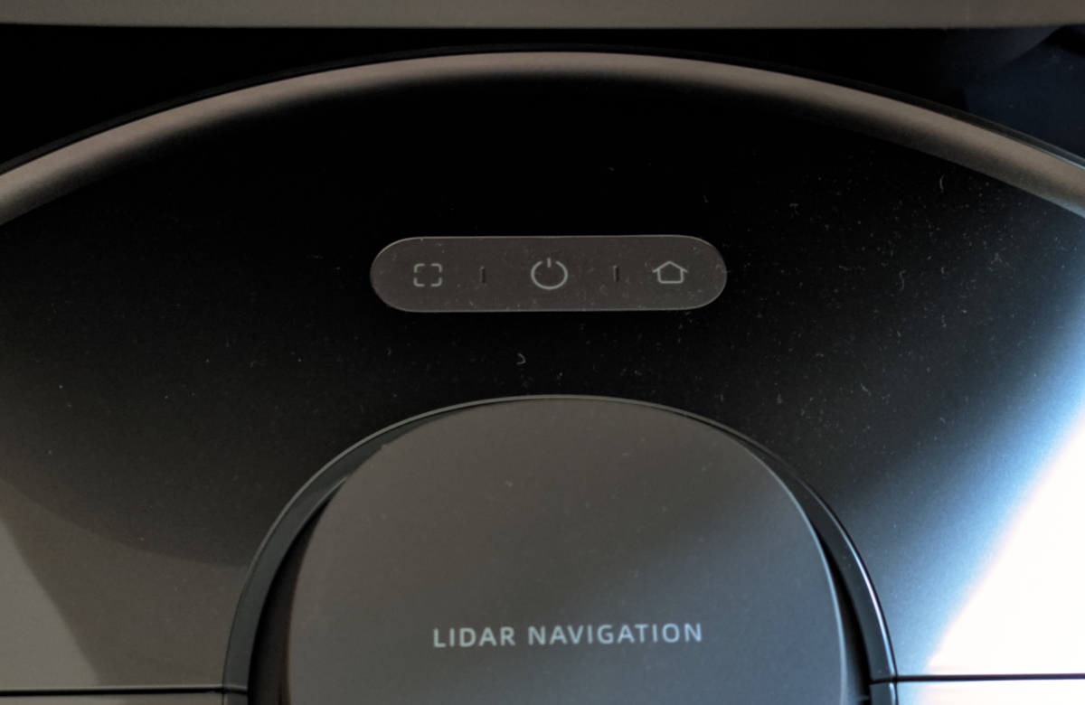Dreame Bot Z10 Pro - Buttons